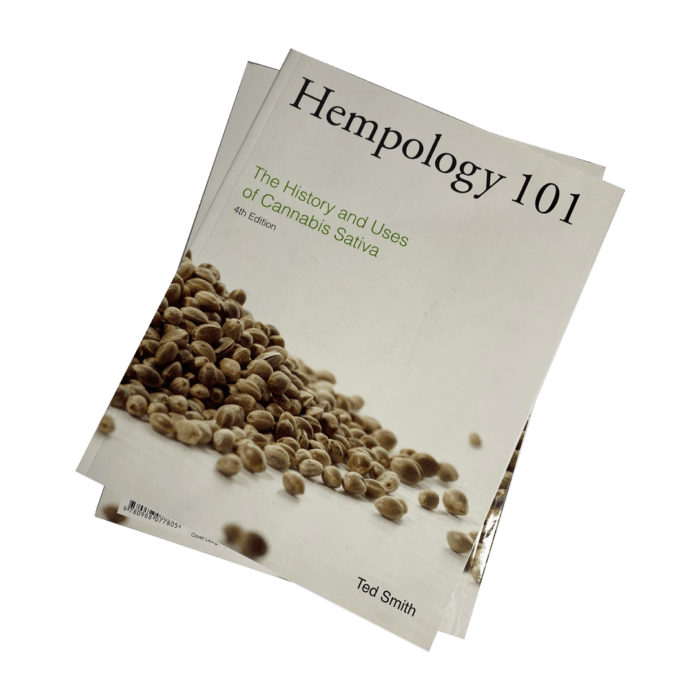 Hempology 101 by Ted Smith (signed)